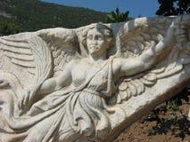 Nike - The Goddess of Victory, Ephesus Stock Photography