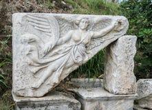 Nike Goddess Victory Ephesus Turkey royalty-vrije stock afbeeldingen