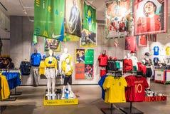 Nike-het circus van stadsoxford stock afbeeldingen