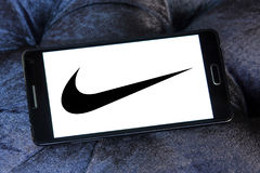 Nike logo Stock Photo