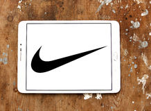 Nike logo Stock Photography