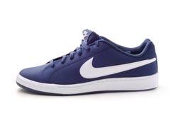 Nike mężczyzna ` s działający but Zdjęcia Royalty Free