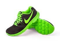 Nike man - rinnande skor fotografering för bildbyråer