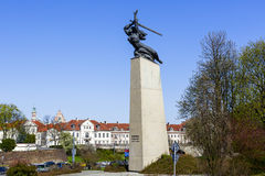 Nike, Monument zu den Helden von Warschau Stockfotografie