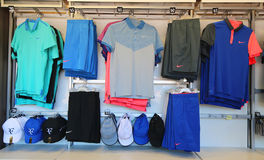 Nike presents new Roger Federer collection  at US Open 2014  at the Billie Jean King National Tennis Center Stock Photos