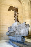 Nike of Samothrace in the Louvre museum, Paris Royalty Free Stock Photography