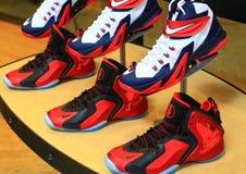 Nike Shoes Fotografia Stock
