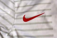 Nike signent images libres de droits