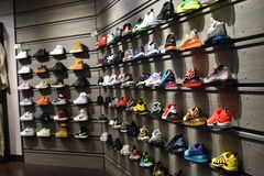 Nike Sneakerhead Dream Wall Fashion 2019 fotos de archivo libres de regalías