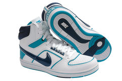 Nike sport shoes Stock Image
