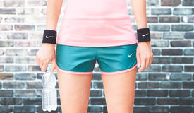 Nike sport wear, woman fitness