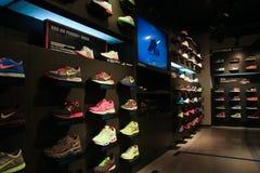 Nike store. Nike retail store in Shanghai China Stock Image