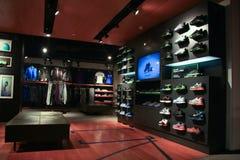 Nike store. Nike retail store in Shanghai China Stock Photography