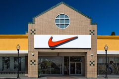 Nike Store Exterior Royalty Free Stock Image