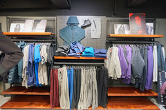 Nike store Royalty Free Stock Photos