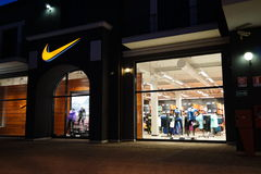 Nike store Stock Photography