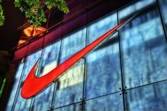 Nike Store Shanghai. Taken in 2011 Stock Image
