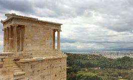 Nike temle in Acropolis Royalty Free Stock Photos