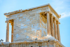 Nike temple in Acropolis Royalty Free Stock Photo