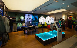 Niketown Athletic Apparel Store in NYC Stock Image