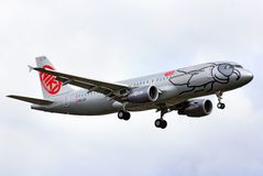 Niki Airbus A320 Royalty Free Stock Photos