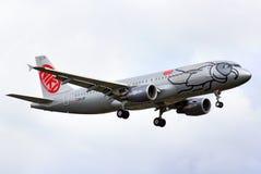 Niki Airbus A320 Royalty Free Stock Photos