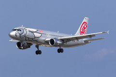 Niki A320 en finales Fotografía de archivo