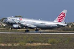 Niki A320 en finales Imagen de archivo