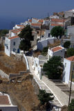 Nikia, traditional greek village Royalty Free Stock Image
