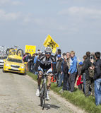 Nikias Arndt - Paris Roubaix 2014 Images stock