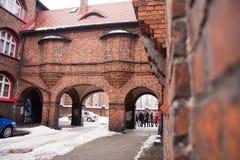 Nikiszowiec Royalty-vrije Stock Afbeeldingen
