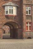 Nikiszowiec - historisches Teil von Katowice und von Schlesien Stockfotografie