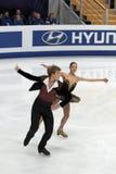 Nikita Katsalapov and Elena Ilinykh Royalty Free Stock Photos