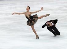 Nikita Katsalapov and Elena Ilinykh Royalty Free Stock Images
