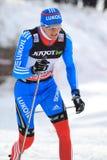 Nikita Kriukov - cross country Royalty Free Stock Photo