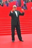 Nikita Mikhalkov at Moscow Film Festival Stock Photo