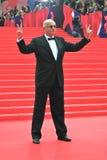 Nikita Mikhalkov på Moskvafilmfestivalen Royaltyfri Fotografi