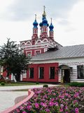 Nikita's Church of the Nativity of the blessed virgin Mary in the city of Kaluga in Russia. Stock Image