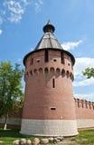 Spasskaya  tower (XVI c.) of Tula Kremlin, Russia. Spasskaya tower (circa XVI c.) of Tula Kremlin. Tula city, Russia Stock Photo