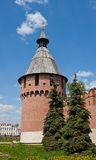 Spasskaya  tower (XVI c.) of Tula Kremlin, Russia Royalty Free Stock Photos