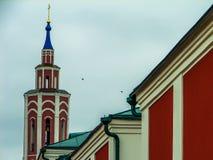 Nikitas Kirche der Geburt Christi der gesegneten Jungfrau Maria in der Stadt von Kaluga in Russland Lizenzfreie Stockfotos