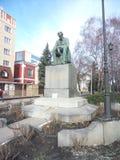Nikitin in voronezh. Nikitin& x27;s monument in voronezh stock photo