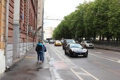 13 Nikitsky Boulevard Stockfotografie