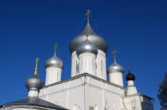 Nikitsky kloster Pereslavl-Zalessky Yaroslavl region Ryssland Arkivfoto