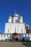 Nikitsky Monastery in the city of Pereslavl-Zalessky. Russia. Nikitsky Monastery in the city of Pereslavl-Zalessky. Summer sunny day. Russia Royalty Free Stock Images