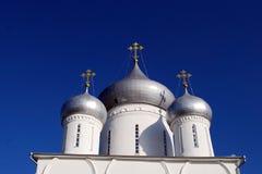 Nikitsky Monastery in the city of Pereslavl-Zalessky. Russia. Nikitsky Monastery in the city of Pereslavl-Zalessky. Temple fragment. Russia Royalty Free Stock Photography