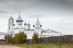 Nikitsky monastery of Pereslavl-Zalessky city, Russia Stock Images