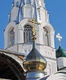 Nikitsky Monastery. Pereslavl-Zalessky. Russia. Nikitsky Monastery in the city of Pereslavl-Zalessky. Temple fragment. Russia Royalty Free Stock Image