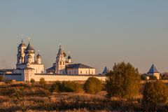 Nikitsky monastery of Pereslavl-Zalessky, Russia Royalty Free Stock Photos