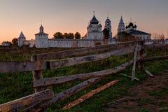 Nikitsky monastery in Pereslavl-Zalessky Stock Images